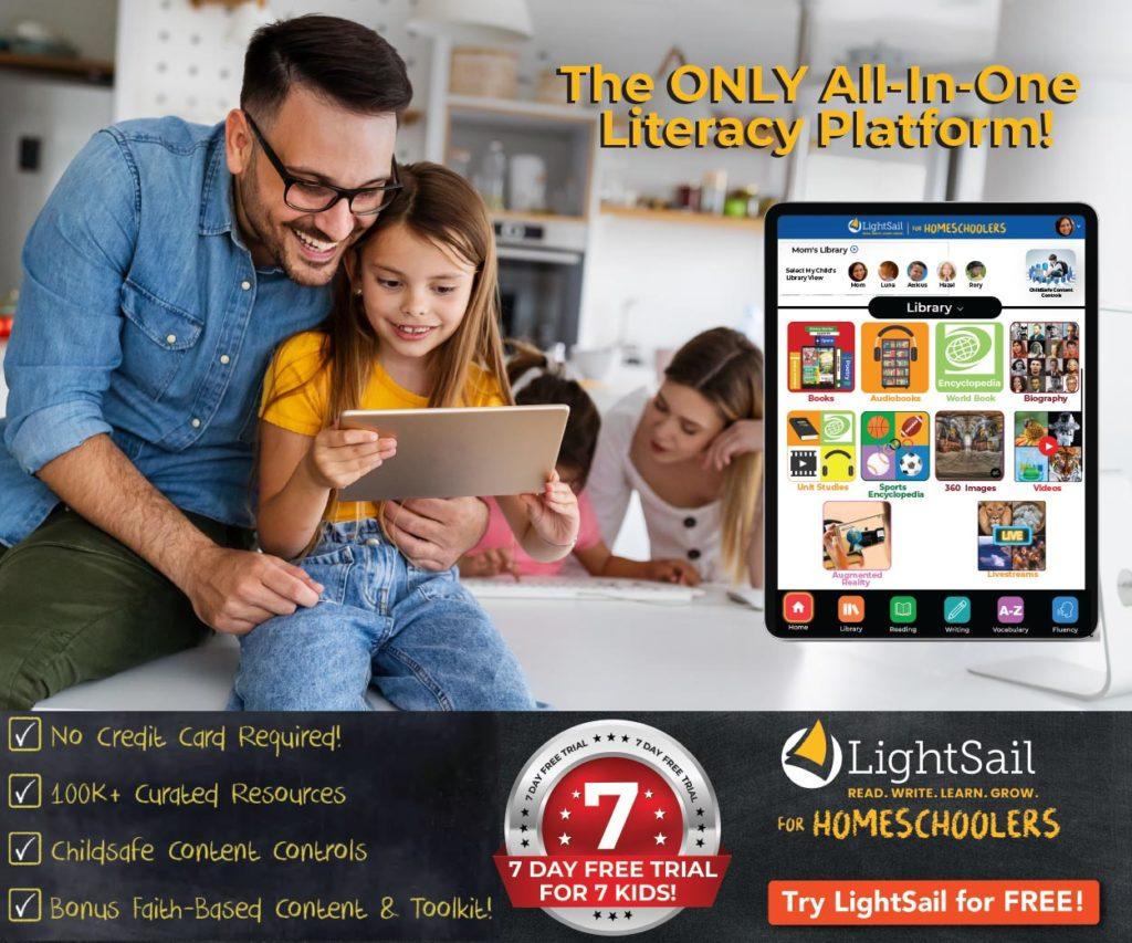 sign up for homeschool literacy program