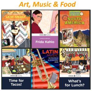 Hispanic Heritage Art, Music & Food
