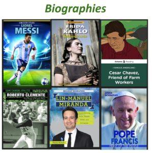 Hispanic Heritage Biographies in RLS