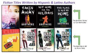Hispanic + Latin Authors in RLS
